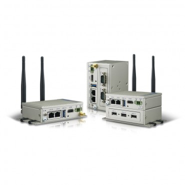 Bezventilátorová IoT brána UNO-2271G-E21AE s Intel E3815 a 4GB RAM, 32GB SSD, 2x GLAN, 1x USB3.0, HDMI, 1x Mini PCIe