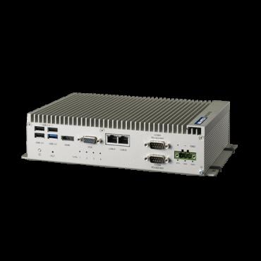 Bezventilátorové PC UNO-2473G-E s E3845 CPU a 4 x GLAN, 3 x USB 2.0, 1 x USB 3.0, 4 x COM, 3 x Mini PCIe