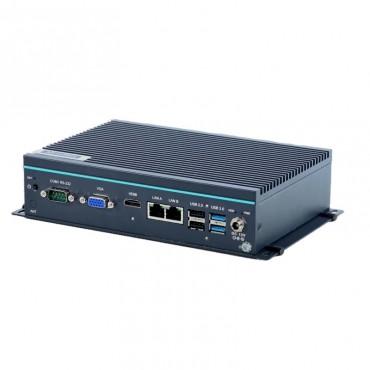 Bezventilátorové IoT Edge PC UNO-247, Intel Celeron J3455, HDMI, VGA, 2xLAN, mSATA, SATA3, mPCIe, M.2, 4xUSB, 6xCOM