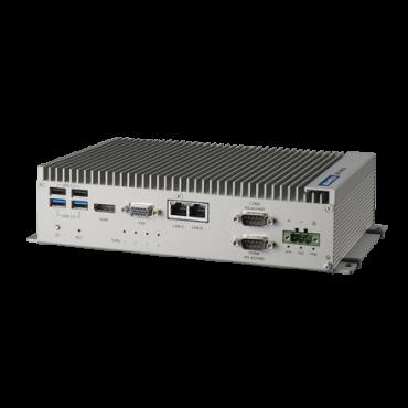 Bezventilátorové PC UNO-2483G s Intel Core a 4x GbE, 2x mPCIe, HDMI/VGA