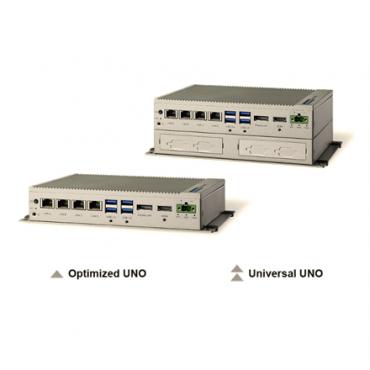 Bezventilátorové PC UNO-2484G s Intel Core, 4x GbE, 1x mPCIe, HDMI, DP