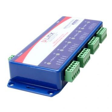 Priemyselný prevodník BB-USOPTL4-4P, USB na 4x RS-422/485 s izoláciou
