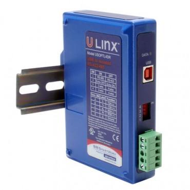 Priemyselný prevodník BB-USOPTL4DR, USB na RS-422/485 s izoláciou, na DIN lištu