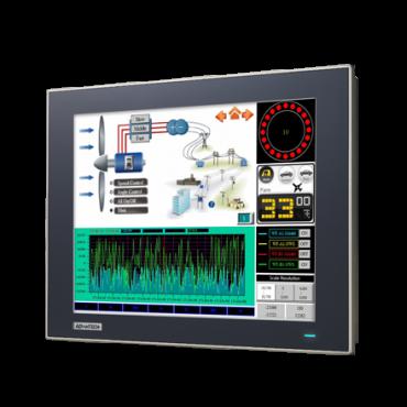 """Operátorský panel WOP-3120T s 12"""" XGA displejom a širokým rozsahom prevádzkových teplôt"""