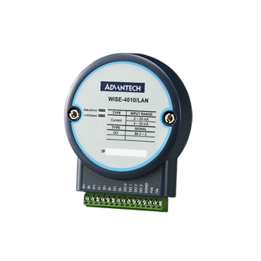 IoT Ethernetový I/O modul WISE-4010/LAN, 4 prúdové vstupy a 4 digitálne výstupy