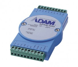 Digitálny RS-485 I/O modul ADAM-4052, 8 izolovaných digitálnych vstupov