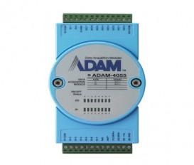 Digitálny RS-485 I/O modul ADAM-4055, 16 izolovaných digitálnych vstupov/výstupov, Modbus/RTU
