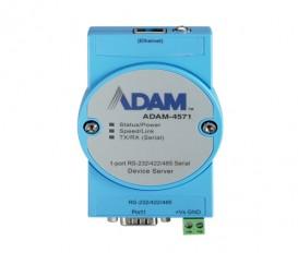 Sériový server 1xRS232/422/485 DB9 1xLAN RJ45 ADAM-4571
