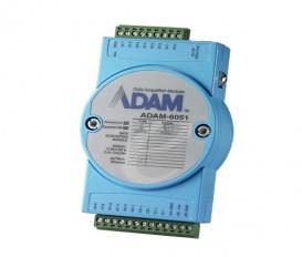 Ethernetový I/O modul ADAM-6051, 14 izolovaných digitálnych vstupov/výstupov, 2 počítadlá, Modbus/TCP
