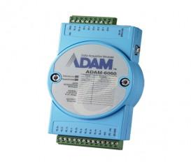 Ethernetový I/O modul ADAM-6060, 6 digitálnych vstupov, 6 relé výstupov, Modbus/TCP