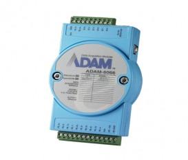 Ethernetový I/O modul ADAM-6066, 6 digitálnych vstupov, 6 výkonových relé výstupov, Modbus/TCP