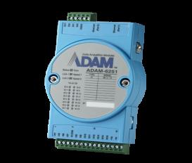 Ethernetový Daisy-chain I/O modul ADAM-6251, 16 izolovaných digitálnych vstupov, Modbus/TCP