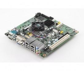 Priemyselná Mini-ITX základná doska AIMB-213 s Intel Atom N455/D525, CRT/DVI/LVDS, 6xCOM, 2xLAN