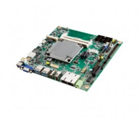 Priemyselná Mini-ITX základná doska AIMB-217 s Intel Pentium/Celeron/Atom QuadCore/DualCore, DP++/HDMI/VGA, 6xCOM, 2xLAN