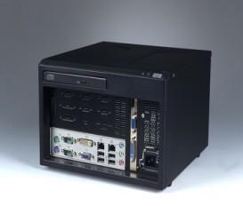 Mini-ITX priemyselná skrinka ARK-6610 s I/O na prednom panely