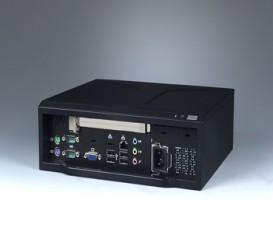 Mini-ITX priemyselná skrinka ARK-6622 s I/O na prednom panely