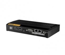 """Digital Signage PC ARK-DS306, AMD T40N, 1xHDMI, 1xVGA, 2xLAN, 1xSATA2 2,5"""", 1xCFast, 2xUSB2, 2xRS232, 1xMiniPCIe"""