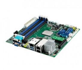 Priemyselná serverová Mini-ITX zákl. doska ASMB-260, Atom C3000, DDR4, VGA, PCIex4, 8xSATAIII, M.2, 4xUSB3.0, GbE, 2x10GbE, 2xCOM, IPMI