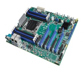 Priemyselná workstation ATX zákl. doska ASMB-805, LGA2066 pre Intel Xeon W s 8 DDR4, 3 PCIe x16, 6 SATA3, 8 USB3.0, IPMI
