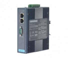 Sériový server 1xRS232/422/485 DB9 2xLAN RJ45 EKI-1521I s rozšírenými pracovnými teplotami