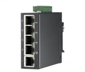 5-portový kompaktný priemyselný switch EKI-2525LI s rozšírenými pracovnými teplotami