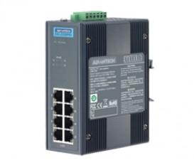 8-portový priemyselný PoE switch EKI-2528PAI s napájaním 24/48VDC a rozšírenými pracovnými teplotami