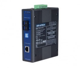 Priemyselný prevodník 1x10/100 RJ45 na 1x100 SC konektor multimode EKI-2541MI s rozšírenými pracovnými teplotami