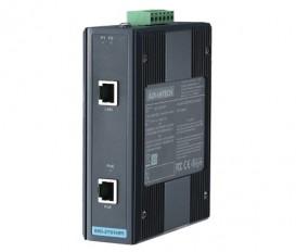 IEEE 802.3af/at gigabitový priemyselný PoE+ Injector EKI-2701HPI s rozšírenými pracovnými teplotami