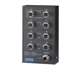 8-portový EN50155 priemyselný PoE switch EKI-6528TPI s rozšírenými pracovnými teplotami