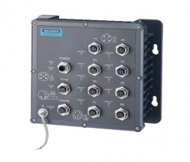 8-portový EN50155 priemyselný manažovateľný switch EKI-6558TI s rozšírenými pracovnými teplotami