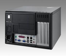 MicroATX priemyselná skrinka IPC-5120 s I/O na prednom panely