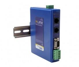 Brána Modbus BB-MESR921 s 1x RS-232/422/485 DB9/svorkovnica, 2x RJ45 LAN, -40 ~ +80 °C