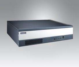 """Bezventilátorové modulárne priemyselné PC do 19"""" racku MIC-7420, 6.Gen. Intel Core i3/i7, DDR4, 2xDVI, 2xGbE, 8xUSB, PS/2, 2xCOM, 2x2,5"""" SATA, 1xM.2, 1xMiniPCIe, Audio, 2xPCI, 2xPCIe x4"""