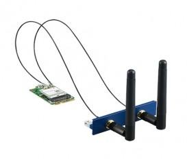 PCM-24S2WF, iDoor rozširujúci modul, WiFi 802.11 ac/a/b/g/n 2T2R, Bluetooth 4.1, M.2/mPCIe, 2xAnténa