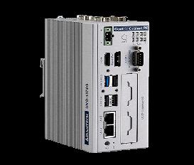 Bezventilátorové PC UNO-1372G-J Intel Celeron J1900 s 2x GbE, 2x mPCIe, 1x mSATA, 4x COM, 4x DI, 4x DO, 4x USB, HDMI/DP na DIN lištu