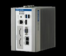 Bezventilátorové PC UNO-1372G Intel Atom E3845 s 3 x GbE, 2 x mPCIe, 1 mSATA, 2 x COM, 8 x DI/O, 3 x USB, HDMI/VGA na DIN lištu
