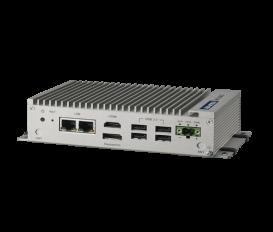 Bezventilátorové PC UNO-2362G s AMD T40E CPU a 2 x GLAN, 4 x USB 2.0, 2 x COM, HDMI, DP, 2 x Mini PCIe