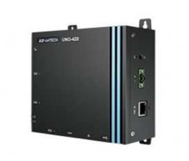 Bezventilátorová IoT brána UNO-420, Intel Atom E3815, 2GB RAM, 32GB eMMC, 1xM.2, 2xmPCIe, 2xLAN(1xPoE-IN), 3xCOM, 8xGPIO, 1xHDMI, 1xUSB3.0