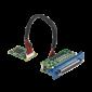 PCM-27D24DI, iDoor rozširujúci modul, 24-ch izolované digitálne I/O, mPCIe, DB37